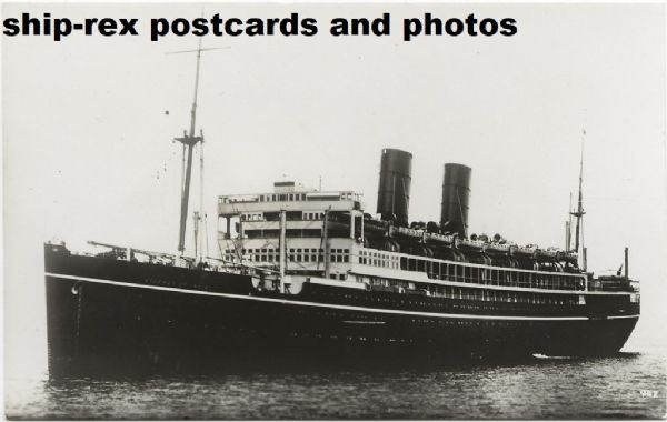 VICEROY OF INDIA (P&O Line) postcard (a)